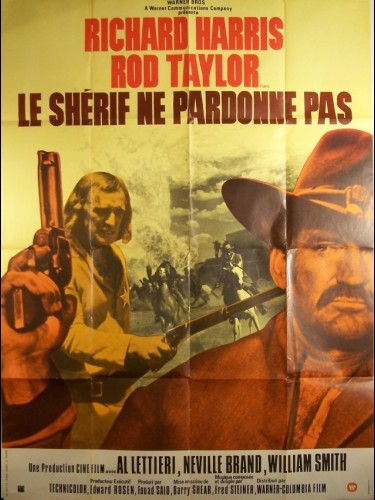 Affiche du film SHERIF NE PARDONNE PAS (LE) - THE DEADLY TRACKERS