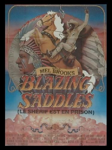 Affiche du film SHERIFF EST EN PRISON (LE) - BLAZING SADDLES