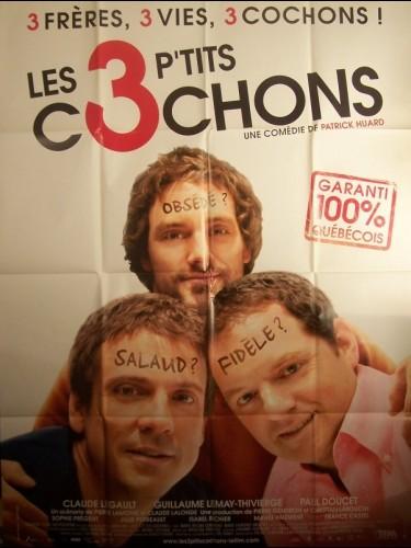 Affiche du film 3 P'TITS COCHONS (LES)