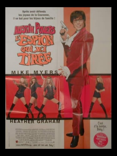 Affiche du film AUSTIN POWERS 2 - THE SPY WHO SHAGGED ME