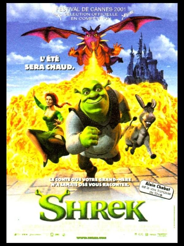 Affiche du film SHREK 1 - SHREK 1