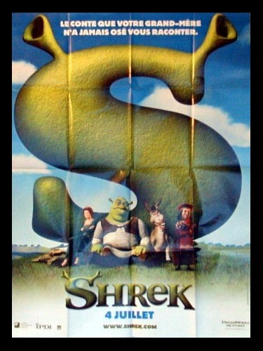 Affiche du film SHREK 1 (PREVENTIVE)