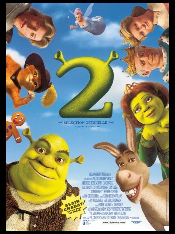 Affiche du film SHREK 2 - SHREK 2