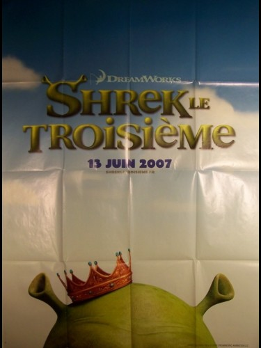 Affiche du film SHREK 3 (PREVENTIVE)