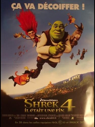 Affiche du film SHREK 4