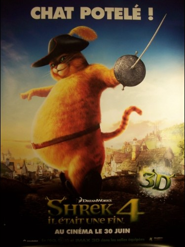 Affiche du film SHREK 4 -LE CHAT- - SHREK FOREVER AFTER