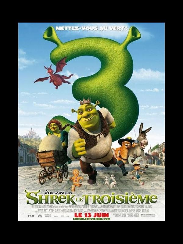 Affiche du film SHREK LE TROISIEME