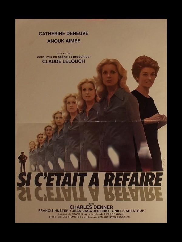 Affiche du film SI C'ÉTAIT A REFAIRE