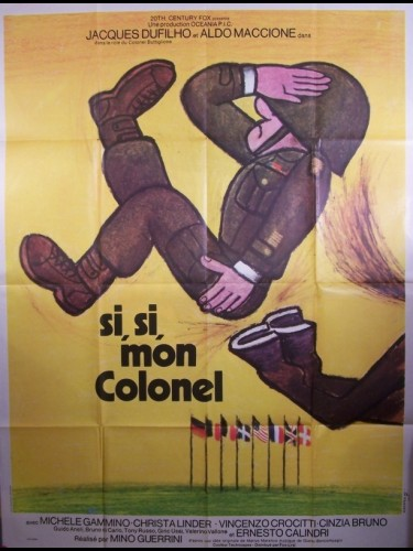 Affiche du film SI,SI,MON COLONEL