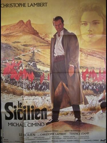 Affiche du film SICILIEN (LE) - THE SICILIAN
