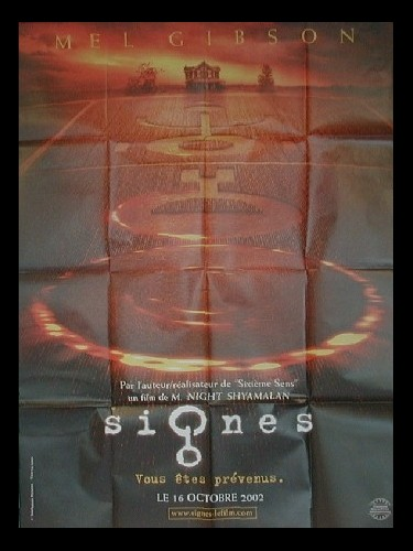 Affiche du film SIGNES (PREVENTIVE A) - SIGNS