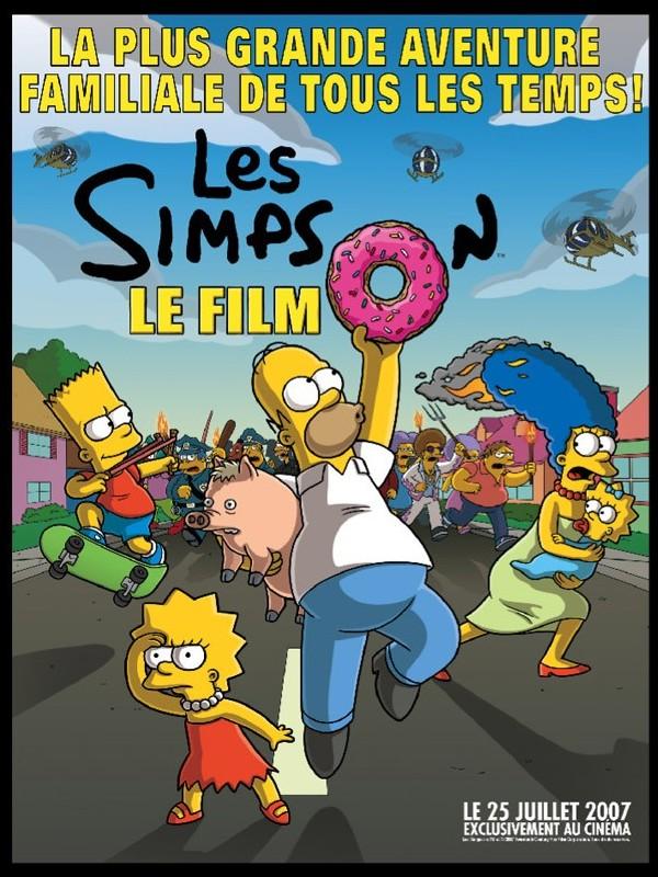 Affiche du film SIMPSON (LES) - LE FILM - SIMPSONS (THE) MOVIE