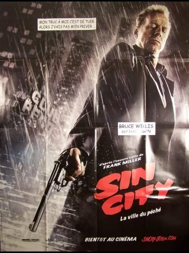 Affiche du film SIN CITY-TEASER-