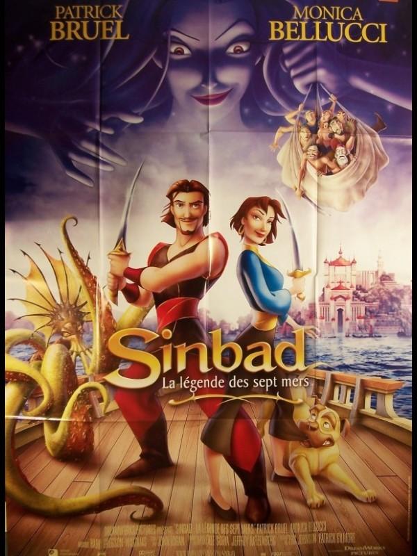 Affiche du film SINBAD , LA LEGENDE DES SEPT MERS