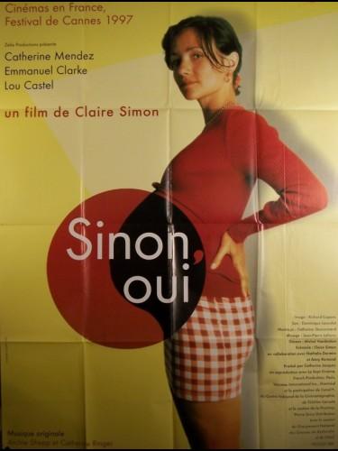 Affiche du film SINON OUI