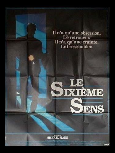 Affiche du film SIXIEME SENS (LE) - MANHUNTER