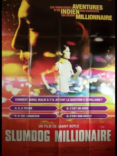 Affiche du film SLUMDOG MILLIONNAIRE