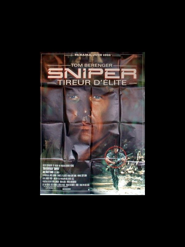 Affiche du film SNIPER -TIREUR D'ELITE-