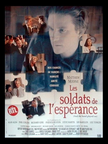 Affiche du film SOLDATS DE L'ESPERANCE (LES) - AND THE BAND PLAYED ON