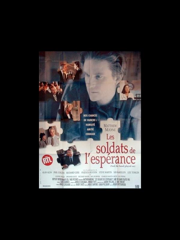 Affiche du film SOLDATS DE L'ESPERANCE (LES) - AND THE BAND PLAYED ON