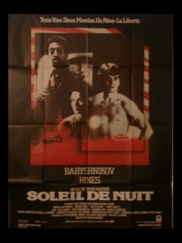 Affiche du film SOLEIL DE NUIT - WHITE NIGHTS