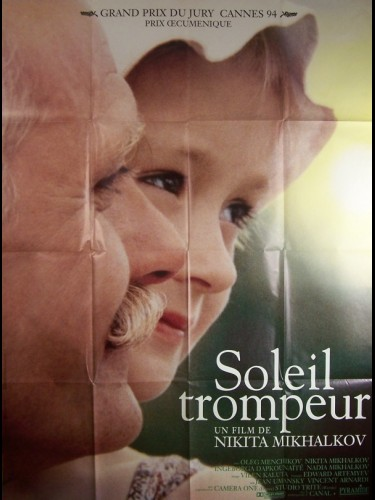 Affiche du film SOLEIL TROMPEUR - BURNT BY THE SUN