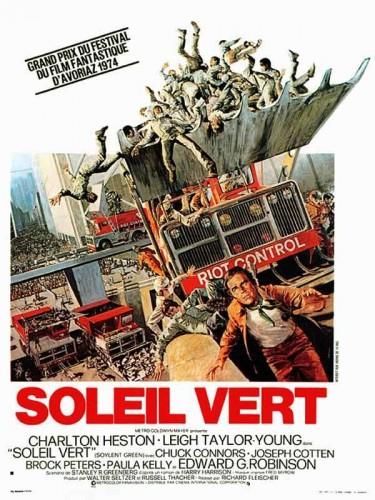 Affiche du film SOLEIL VERT - SOYLENT GREEN