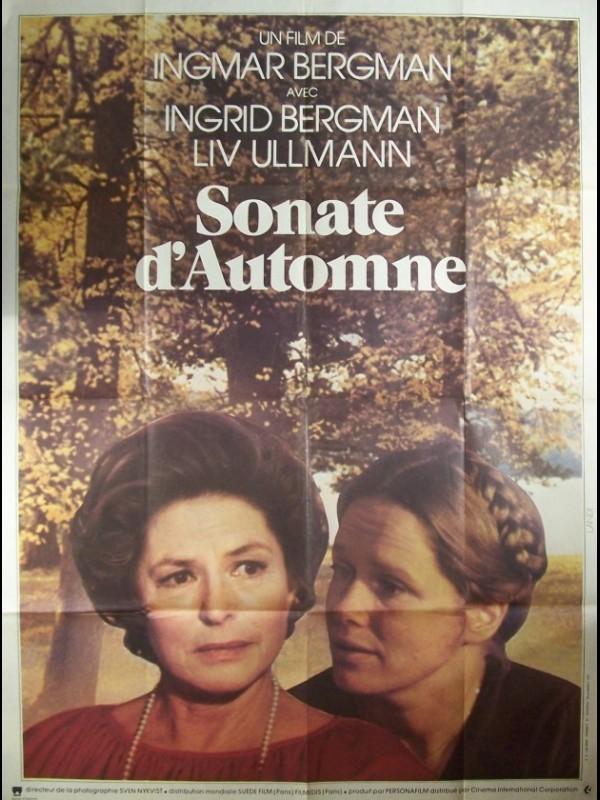 Affiche du film SONATE D'AUTOMNE