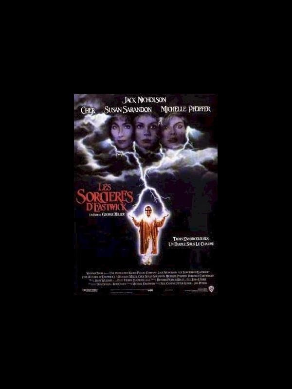 Affiche du film SORCIERES D'EASTWICK (LES) - THE WITCHES OF EASTWICK