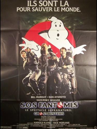 Affiche du film SOS FANTOMES - GHOST BUSTERS