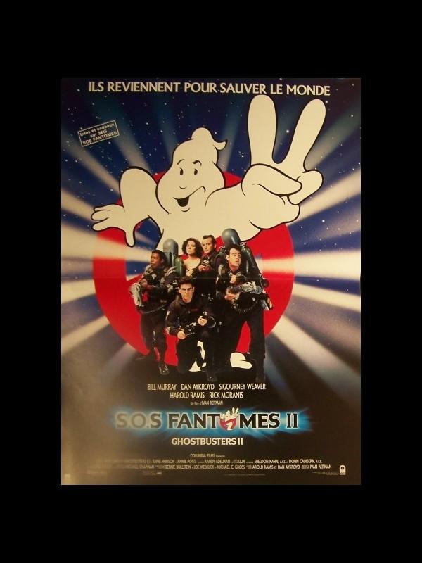 Affiche du film SOS FANTOMES 2 - GHOSTBUSTER 2