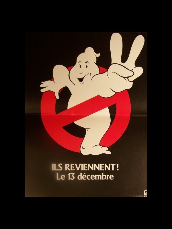 Affiche du film SOS FANTOMES 2 (PREVENTIVE) - GHOSTBUSTER 2