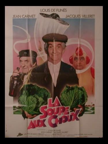 Affiche du film SOUPE AUX CHOUX (LA)