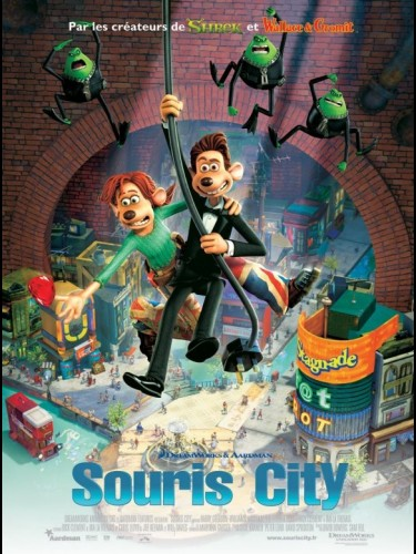 Affiche du film SOURIS CITY - FLUSHED AWAY