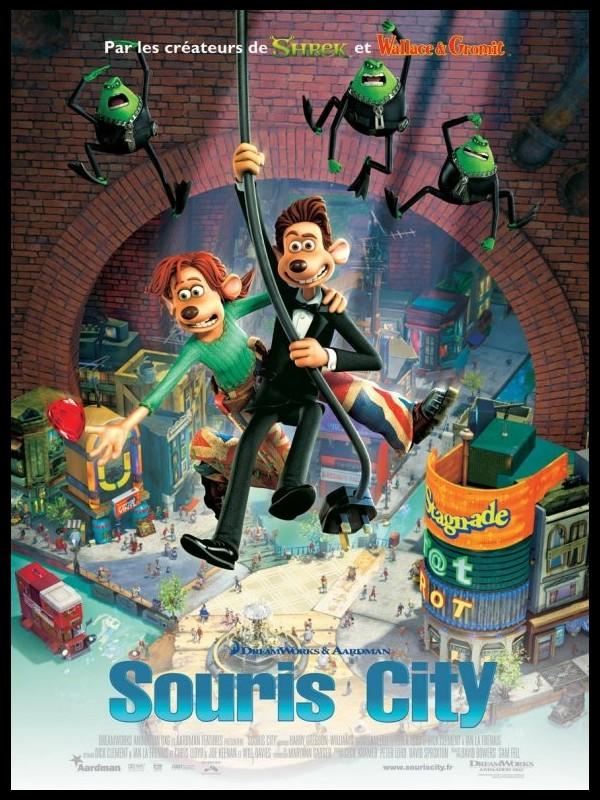 Affiche du film SOURIS CITY - FLUSHED AWAY