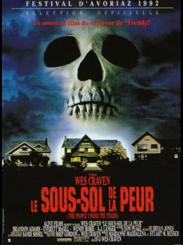 Affiche du film SOUS-SOL DE LA PEUR (LE) - PEOPLE UNDER THE STAIRS