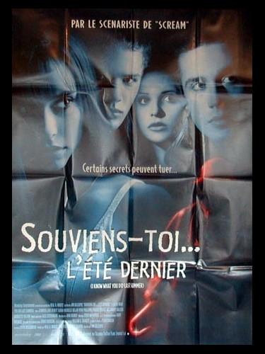 Affiche du film SOUVIENS-TOI L'ETE DERNIER