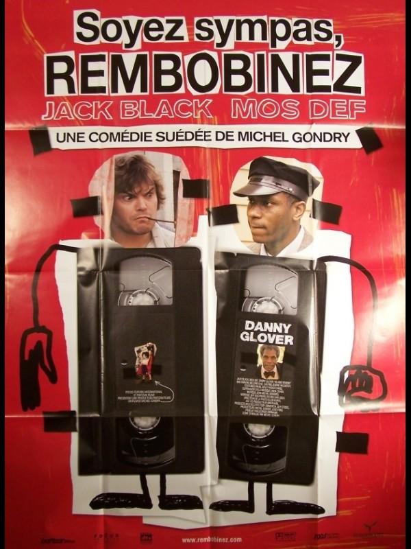 Affiche du film SOYEZ SYMPAS,REMBOBINEZ - BE KIND REWIND