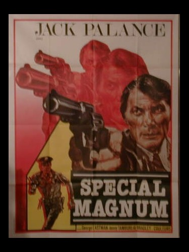 Affiche du film SPECIAL MAGNUM -POUR UN DOLLAR D'ARGENT - SANGUE DI SBIRRO