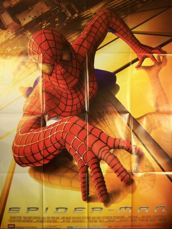 Affiche du film SPIDER-MAN 1 - SPIDER-MAN 1