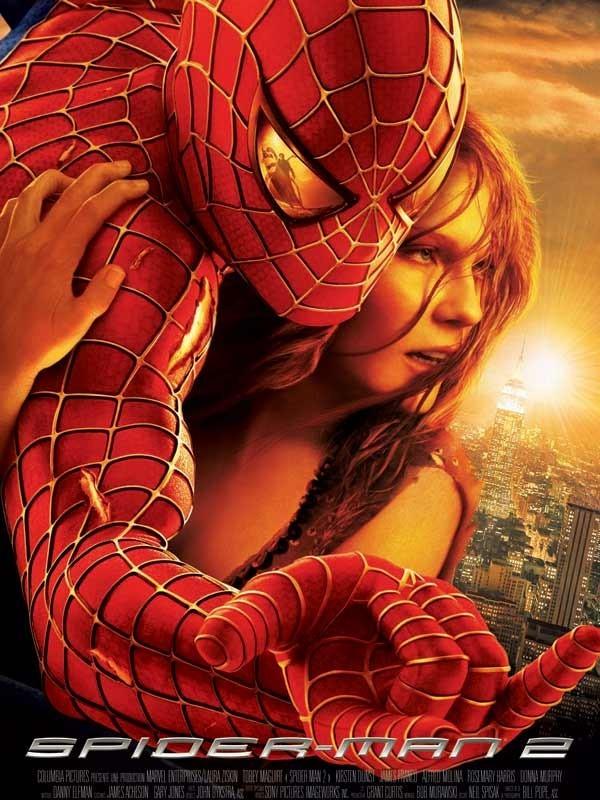 Affiche du film SPIDER-MAN 2 - SPIDER-MAN 2