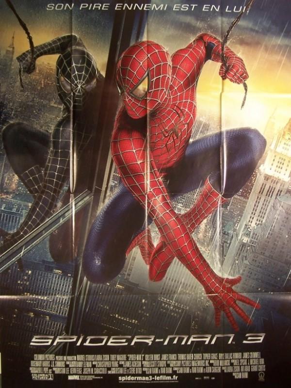Affiche du film SPIDERMAN 3