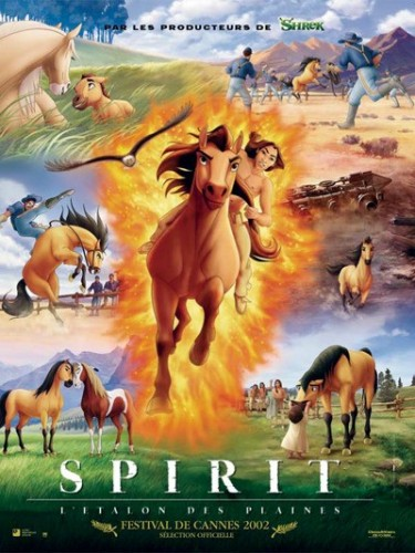 Affiche du film SPIRIT : L'ÉTALON DES PLAINES - SPIRIT : STALLION OF THE CIMARRON