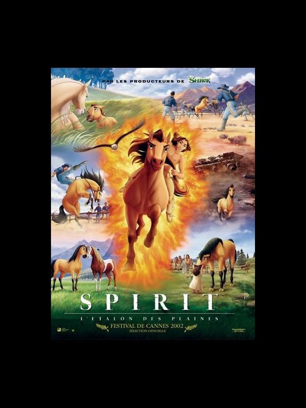 Affiche du film SPIRIT : L'ÉTALON DES PLAINES - SPIRIT : STALLION OF THE CIMARRON