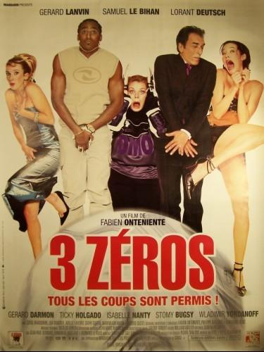 Affiche du film 3 ZEROSS