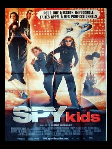 Affiche du film SPY KIDS