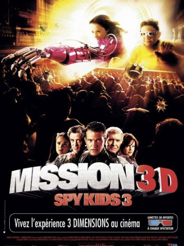 SPY KIDS 3 : MISSION 3D - SPY KIDS 3D : GAME OVER