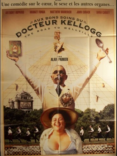 Affiche du film AUX BONS SOINS DU DR KELLOGG - THE ROAD TO WELLVILLE