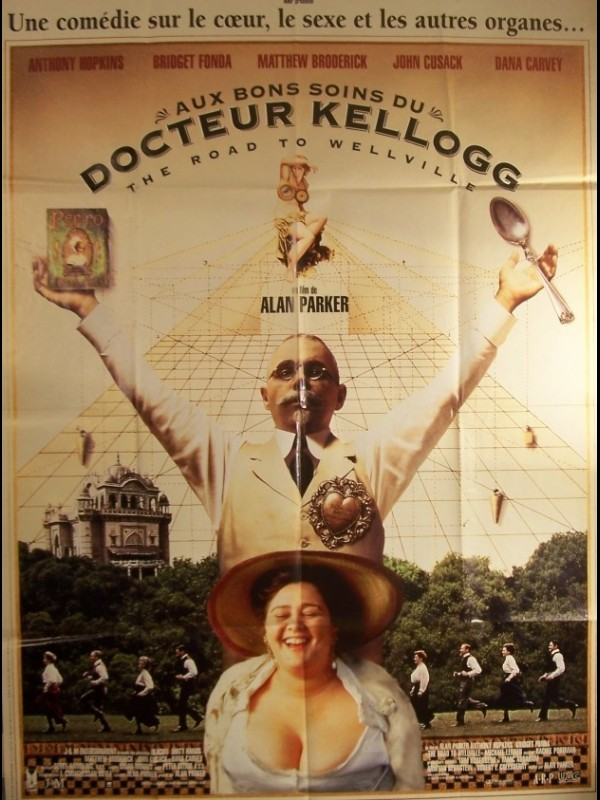 Affiche du film AUX BONS SOINS DU DR KELLOGG - THE ROAD TO WELLVILLE