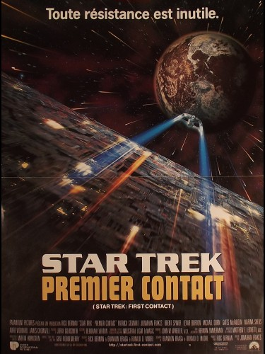 Affiche du film STAR TREK -PREMIER CONTACT- - STAR TREK: FIRST CONTACT